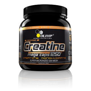 Olimp Creatine 1250 Mega Caps - Olimp Creatin Test